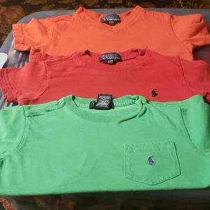 Polo tops 2T (3 shirts)